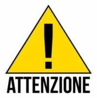*ATTENZIONE* – SOSPENSIONE ATTIVITA'
